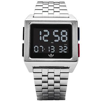 Adidas archive_m1 Quartz digital man Watch med rustfrit stål armbånd Z012924-00