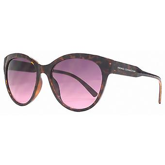 French Connection Easy Glamour Sunglasses - Brown/Pink