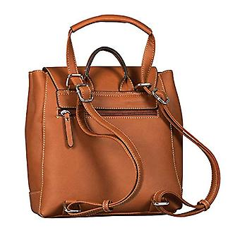 Tom Tailor Acc In the - Brown Women's Backpack Bags (Cognac) 24x40x10 cm (W x H L)