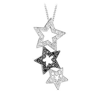 Tuscany Silver Necklace with Women's Pendant in Silver Sterling 925 - with Cubic Zirconium - 46 cm 8.44.2770