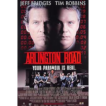 Arlington Road (Video) (Single Sided) Original Video/Dvd Ad Poster