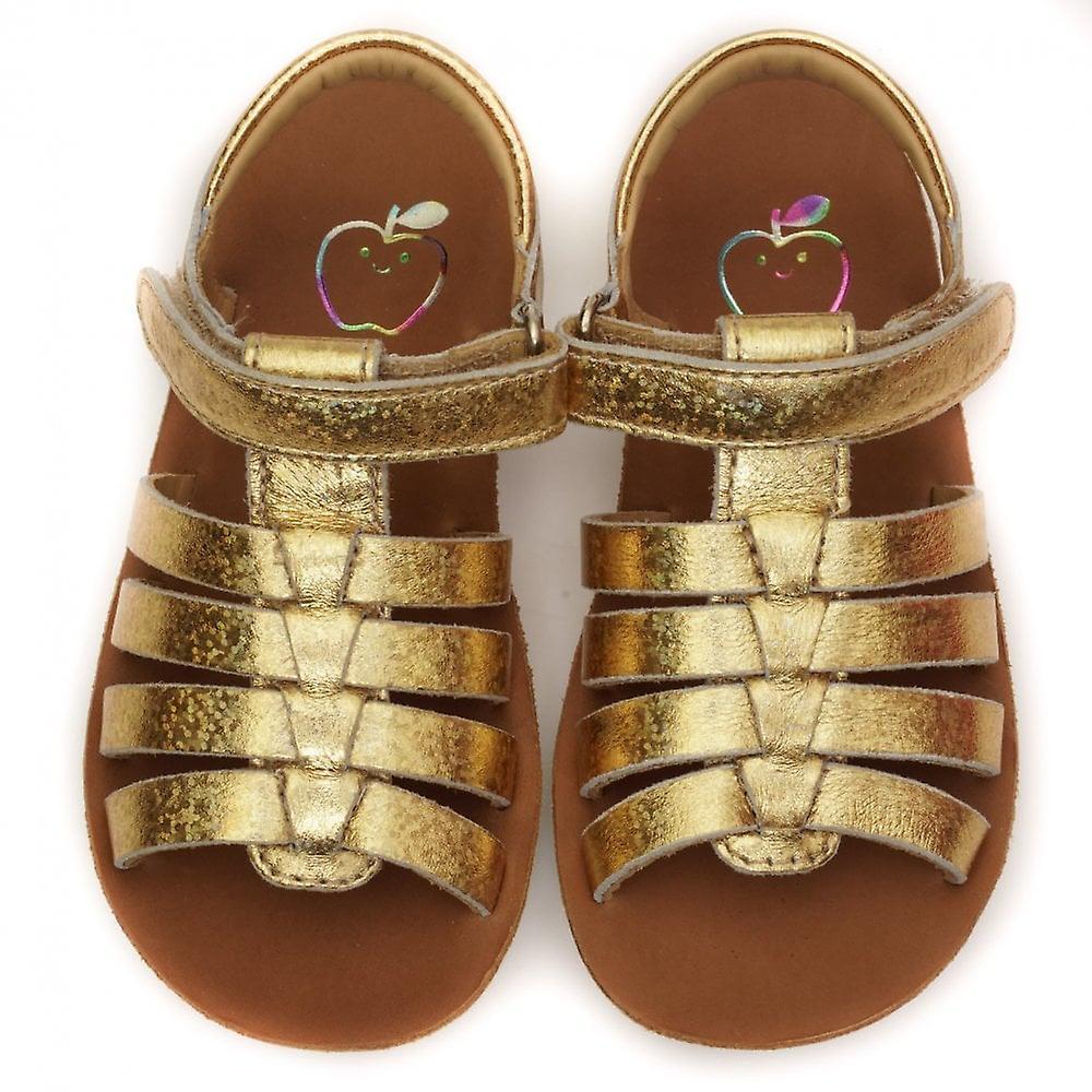 Shoo Pom by Pom D'Api Goa Spart Snow Sandal, Gold