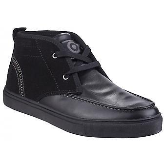 Lambretta Chukka Boys Ankle Boots Black