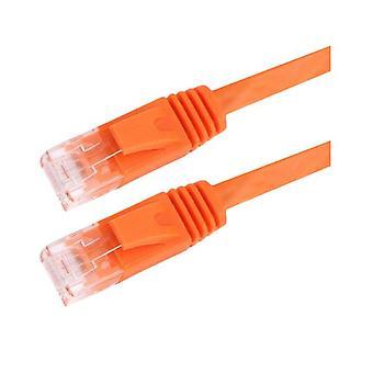 ハイパーテック 1M Cat5 Rj45 ランエテネット ネットワーク オレンジ パッチ リード
