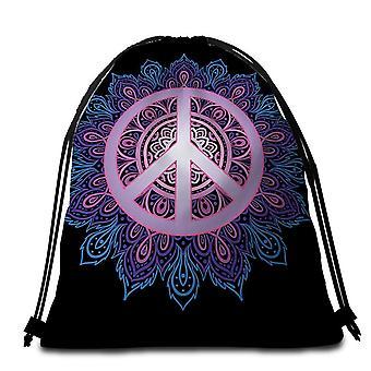 Mandala Peace strandlaken