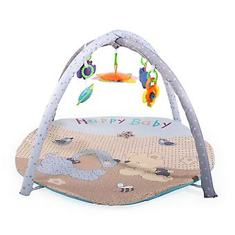 Moni Playbow Crawled Blanket PB119 Fun Time Cinco Juguetes con C-Ring Extraíble