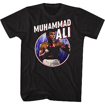 Amerikan Klasikleri Muhammed Ali Boks Efsanesi Tişört - Siyah