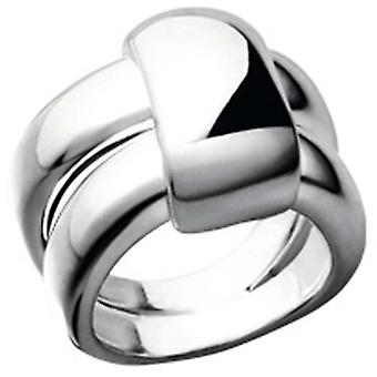 Clio Blue BA0334 ring - ring timeless silver woman