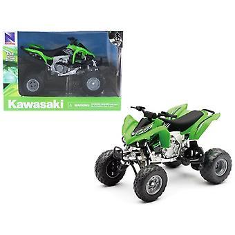 Kawasaki KFX 450R ATV Green 1/12 Motorcycle Model by New Ray