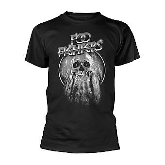Foo Fighters Skull Dave Grohl Concrete e Gold Official T-Shirt
