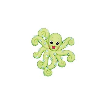Katy Sue Designs Katy Sue Zucker Knöpfe Octopus Form