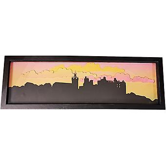 Linlithgow Palace & St Michael's Church Papercrafted Frame by Sweet Pea Designs