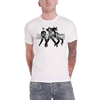 Elvis Presley T Shirt Jailhouse Rock Logo nieuwe Officiële Mens White