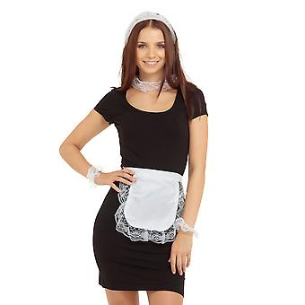Bristol Novelty Womens/Ladies French Maid Accessory Set