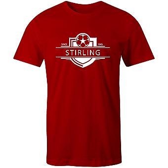 Stirling Albion 1945 Stabilito Distintivo Distintivo Calcio T-Shirt