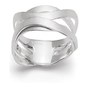 Bastian Inverun Ring Sterling Silver 12678 Ring Size 52 (16.6mm)