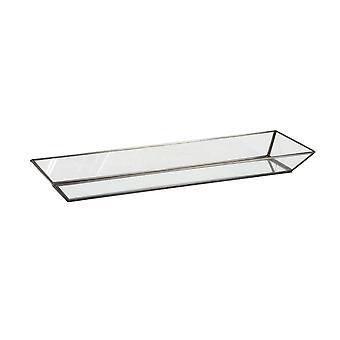 Light & Living Tray 59.5x19x5.5cm Fillan Glass