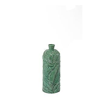 Light & Living Vase Deco 16.5x43cm Lavero Ceramics Green