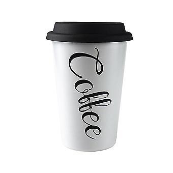 Tazza da viaggio con paglia - Caffè