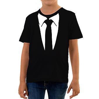 Reality glitch suit kids t-shirt