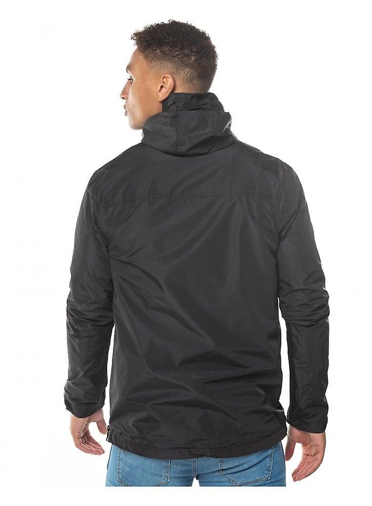 11 grados 11d impermeable chaqueta de huracán negro