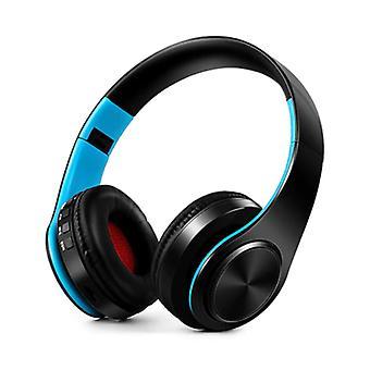 ZAPET Wireless Headphones Bluetooth Wireless Headphones Stereo Gaming Blue-Black