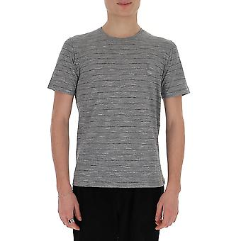 Saint Laurent 605252ybqi21407 Män's Grey Cotton T-shirt