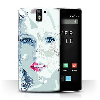 STUFF4 Case/Cover for OnePlus One/Frosted Face/Fragments