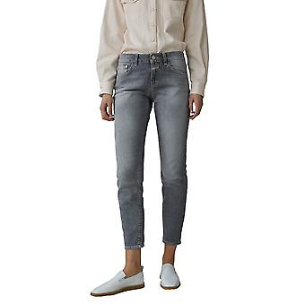 Closed C9183305g3gmgy Women's Grey Cotton Jeans