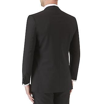 Skopes Mens Latimer Big Tall Single Breasted Formal Dinner Suit Jacket - Black