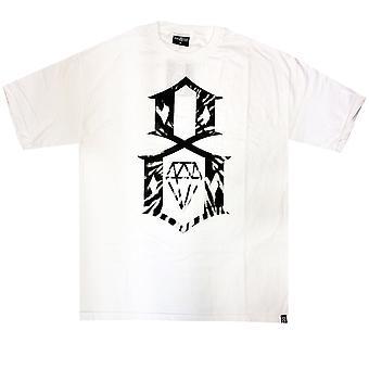 Rebel8 Tie Dye Logo t-paita valkoinen