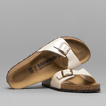Birkenstock Madrid 940151 (reg) damer Birko-flor en rem sandaler yndefulde perle