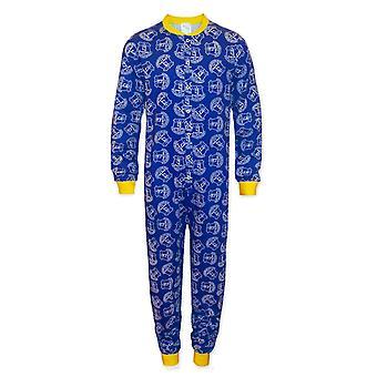 Everton FC Officiële Voetbal cadeau jongens kids pyjama all-in-one