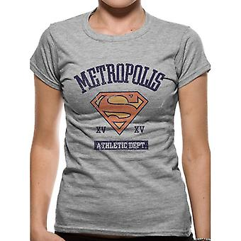Supergirl Womens/Ladies Athletic Dept T-Shirt