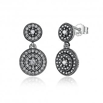 Silver Earrings Radiant - 6500