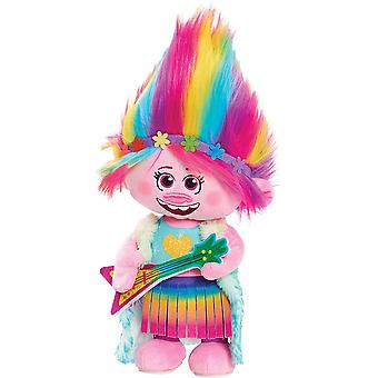 Dreamworks Trolls World Tour Dancing Poppy Plush Toy Ages 3 Years+