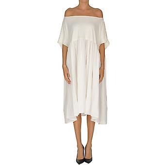 A.b. Ezgl492003 Mujeres's Vestido de lino blanco