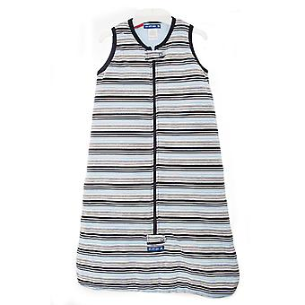 uh-oh! Sleeveless Baby Sleeping Bag with a 2.5 tog Warmth Rating Multi Blue Stripe
