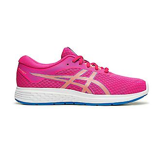 Asics Patriot 11 Kids Girls Running Fitness Training Trainer Kenkä Vaaleanpunainen