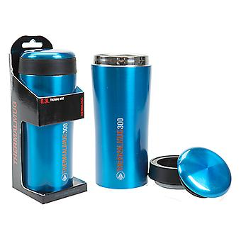 Summit 300ml Thermal Commuter Mug & Lid Acero Inoxidable Doble Pared - Azul