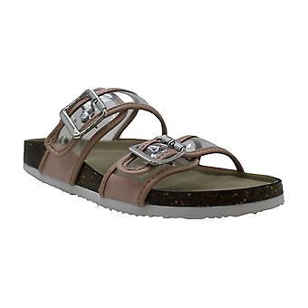 Madden Girl Womens Brando Open Toe Casual Slide Sandals