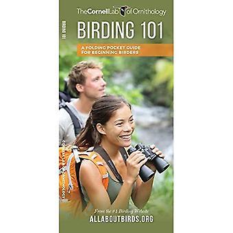 Birding 101: A Folding Pocket Guide for Beginning Birders