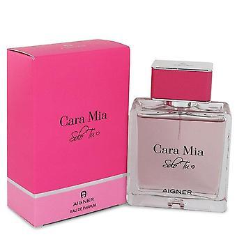 Cara Mia Solo Tu Eau De Parfum Spray By Etienne Aigner   550485 100 ml