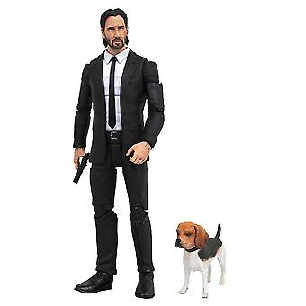 """John Wick with Dog 7"""" Action Figure"""