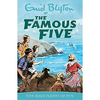 Famous Five Five Have Plenty Of Fun Classic cover edition Book 14 by Enid Blyton