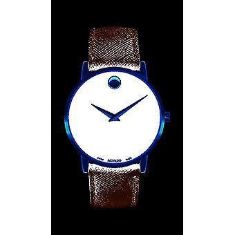Movado - Wristwatch - Men - 0607195 - MUSEUM CLASSIC - Quartz Watch
