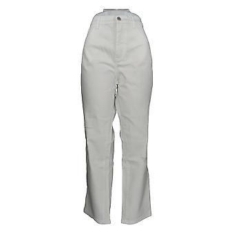 Denim & Co. Women's Jeans Classic Denim Distressed White A304475