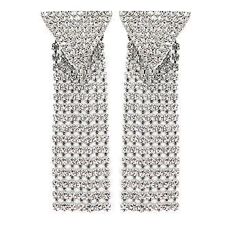 Alessandra Rich Faba2020001 Mujer's Pendientes de metal de plata