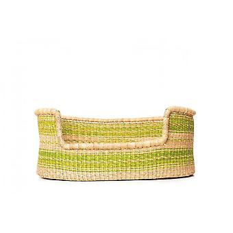 Cosy Coco Napier Grass Dog Bed | Natural Green