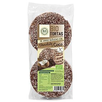 Sol Natural Chocolate with Coco Bio tortias 6 Units 100 gr
